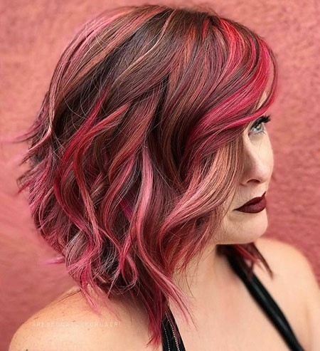 Reddish-Balayage-Hair Short Red Hair Color Ideas