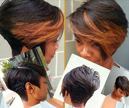 Bouncy-Short-Bob-Hairstyle-with-Brown-Bangs-for-Girls