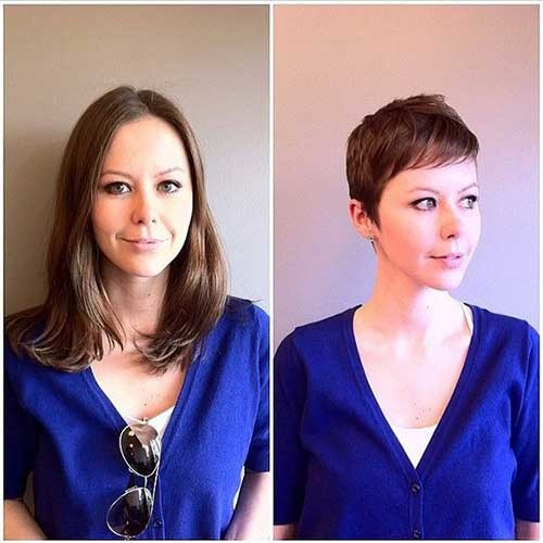 Amazing Before and After Haircut