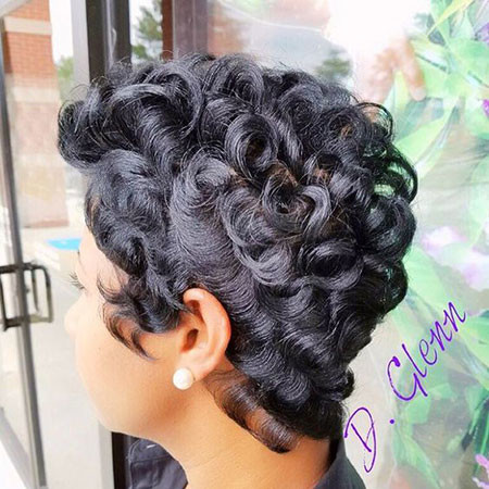 40-Short-Pixie-Hairstyles-for-Black-Women Best Short Pixie Hairstyles for Black Women 2018 – 2019