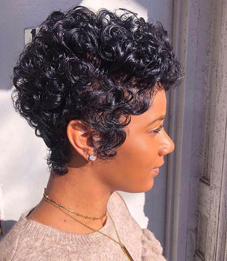 41-Short-Pixie-Hairstyles-for-Black-Women Best Short Pixie Hairstyles for Black Women 2018 – 2019