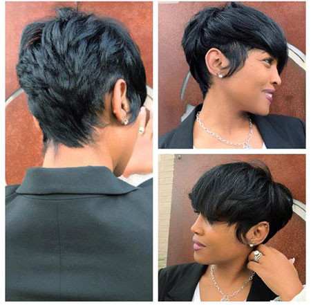 48-Short-Pixie-Hairstyles-for-Black-Women Best Short Pixie Hairstyles for Black Women 2018 – 2019