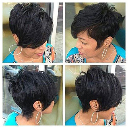 52-Short-Pixie-Hairstyles-for-Black-Women Best Short Pixie Hairstyles for Black Women 2018 – 2019