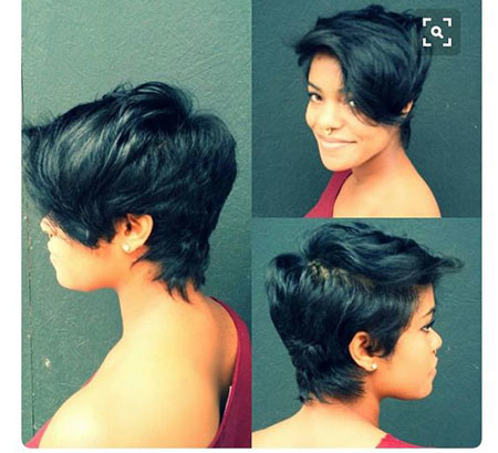 53-Short-Pixie-Hairstyles-for-Black-Women Best Short Pixie Hairstyles for Black Women 2018 – 2019