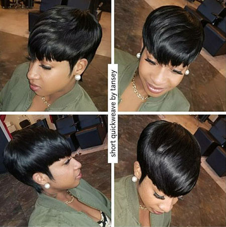 54-Short-Pixie-Hairstyles-for-Black-Women Best Short Pixie Hairstyles for Black Women 2018 – 2019