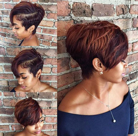55-Short-Pixie-Hairstyles-for-Black-Women Best Short Pixie Hairstyles for Black Women 2018 – 2019