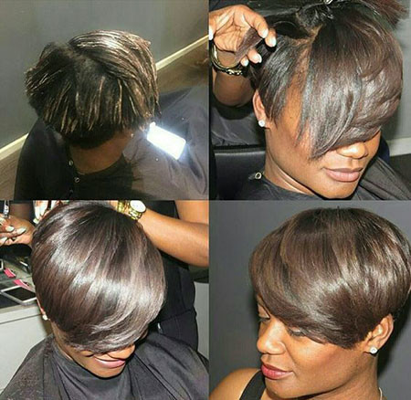56-Short-Pixie-Hairstyles-for-Black-Women Best Short Pixie Hairstyles for Black Women 2018 – 2019