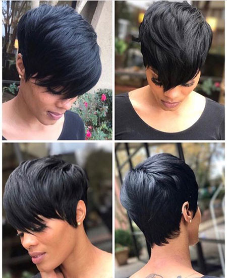 57-Short-Pixie-Hairstyles-for-Black-Women Best Short Pixie Hairstyles for Black Women 2018 – 2019