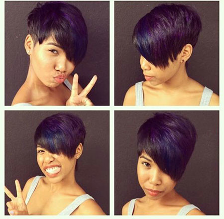 62-Short-Pixie-Hairstyles-for-Black-Women Best Short Pixie Hairstyles for Black Women 2018 – 2019