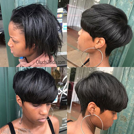 63-Short-Pixie-Hairstyles-for-Black-Women Best Short Pixie Hairstyles for Black Women 2018 – 2019