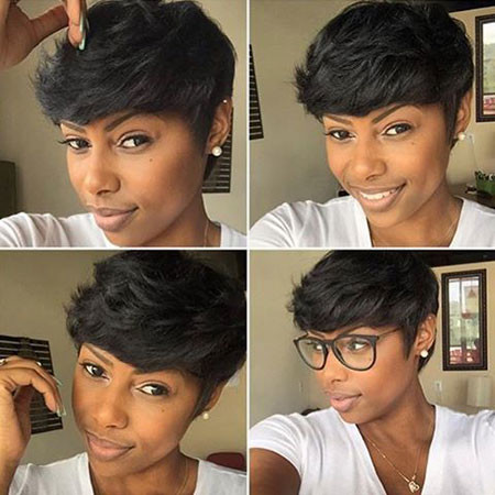 65-Short-Pixie-Hairstyles-for-Black-Women Best Short Pixie Hairstyles for Black Women 2018 – 2019