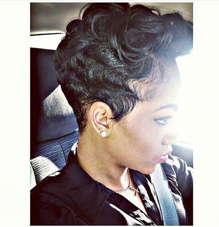 76-Short-Pixie-Hairstyles-for-Black-Women Best Short Pixie Hairstyles for Black Women 2018 – 2019