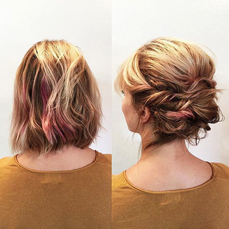Blonde-Updo-Hair