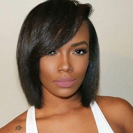 Bob-Haircuts-Black-Women Best Short Hairstyles for Black Women 2018 – 2019