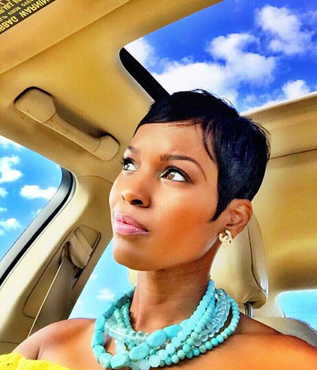Chic-Pixie-Hairstyle Best Short Pixie Hairstyles for Black Women 2018 – 2019