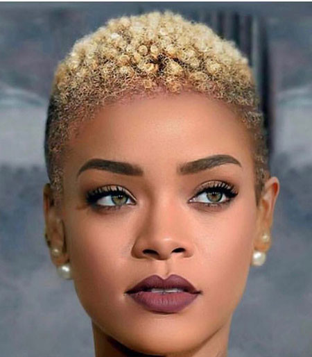Fade-Haircut-for-Black-Women Best Short Hairstyles for Black Women 2018 – 2019