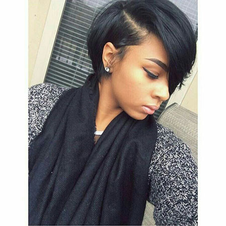 Short-Bob-Hair-Black Best Short Hairstyles for Black Women 2018 – 2019