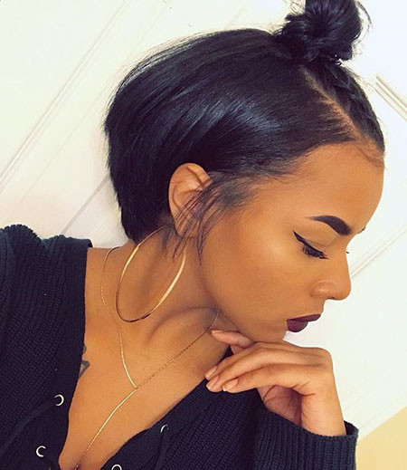 Short-Bob-Hairstyles-for-Black-Women Best Short Hairstyles for Black Women 2018 – 2019