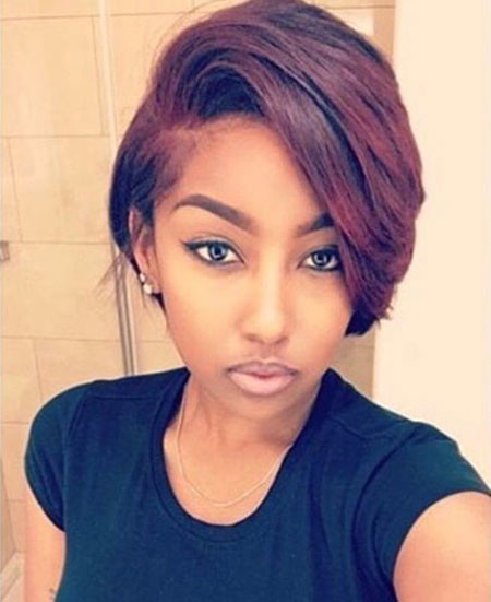 Short-Hair-2 Best Short Hairstyles for Black Women 2018 – 2019
