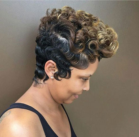 Twists-Undo Best Short Pixie Hairstyles for Black Women 2018 – 2019