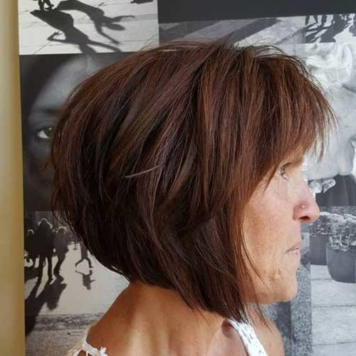 Short Haircuts For Older Women 2019 The Undercut