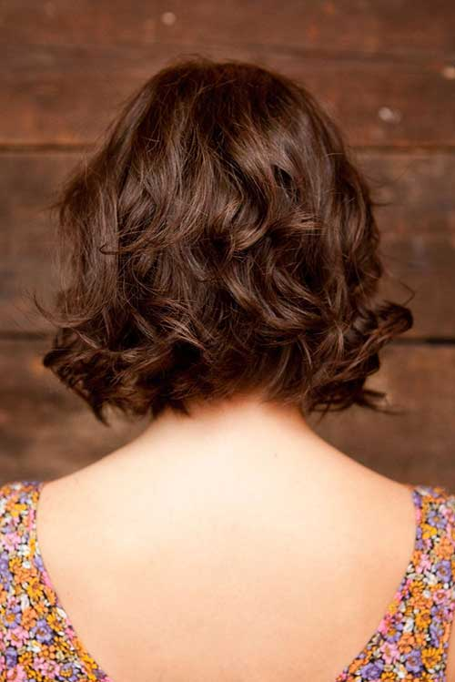 Brown-Short-Layered-Curly-Hair-Back-Look