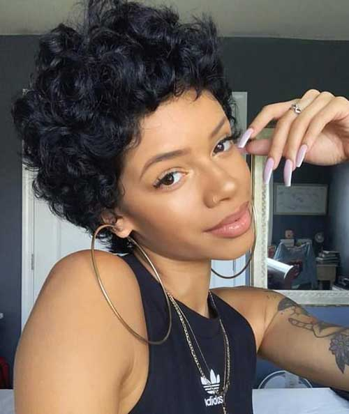 Latest Short Natural Hairstyles For Black Women The Undercut