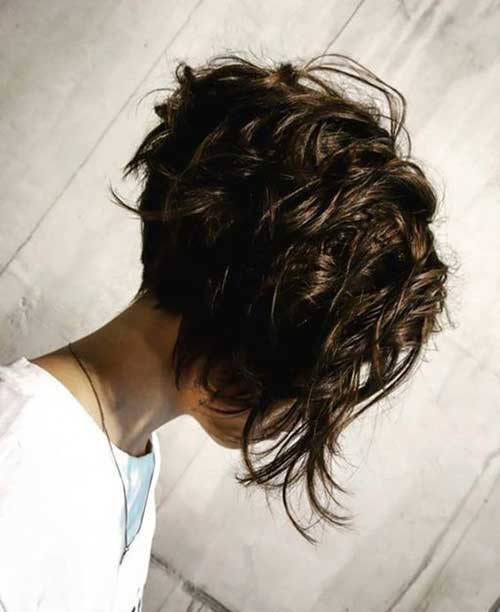 Messy-Hair Best Short Layered Haircuts for Women Over 50