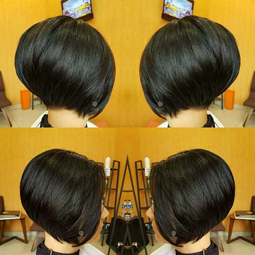 Straight-Hair Best Short Layered Haircuts for Women Over 50