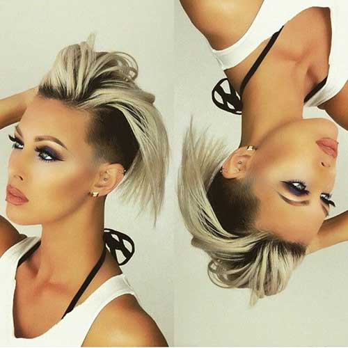 2015-New-Short-Hair-with-Undercut-and-Dark-Roots