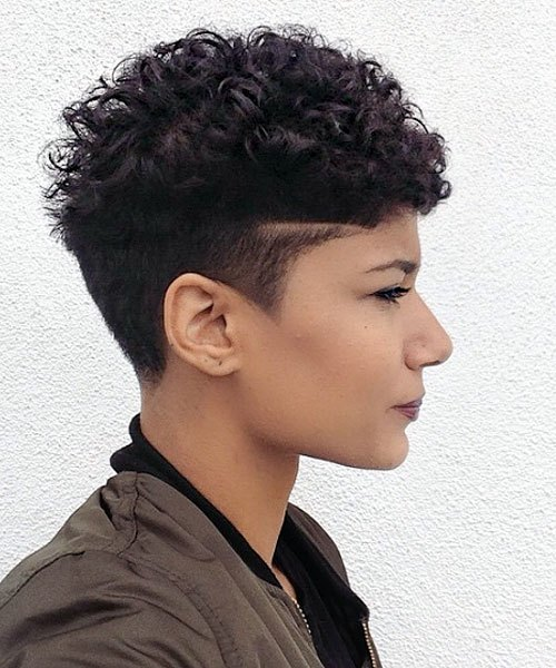 African-American-Curly-Top-–-Pixie-Cut-with-soft-Curls