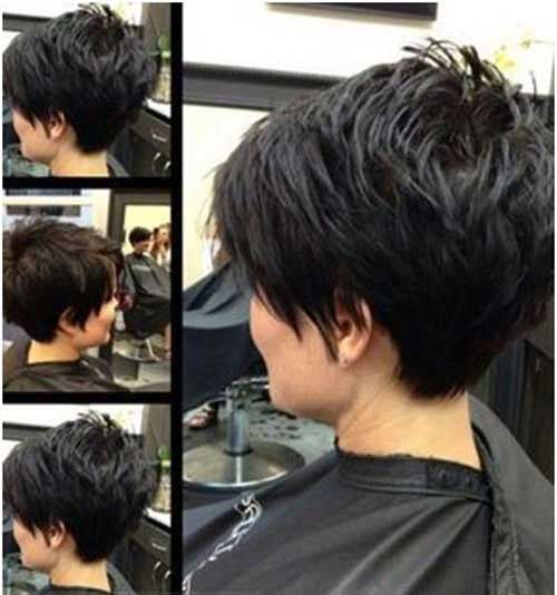 Cute-Pixie-Hairstyle-for-Short-Thick-Layered-Hair