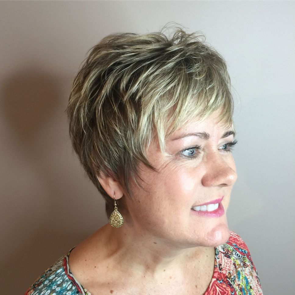 Shaggy Hairstyles for Women with Fine Hair over 50 - The ...