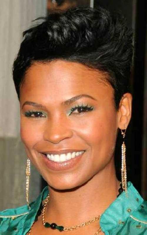African-American-Advanced-Short-Pixie-Haircut-for-Black-Women